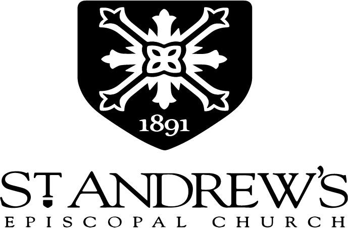 St Andrews logoo black
